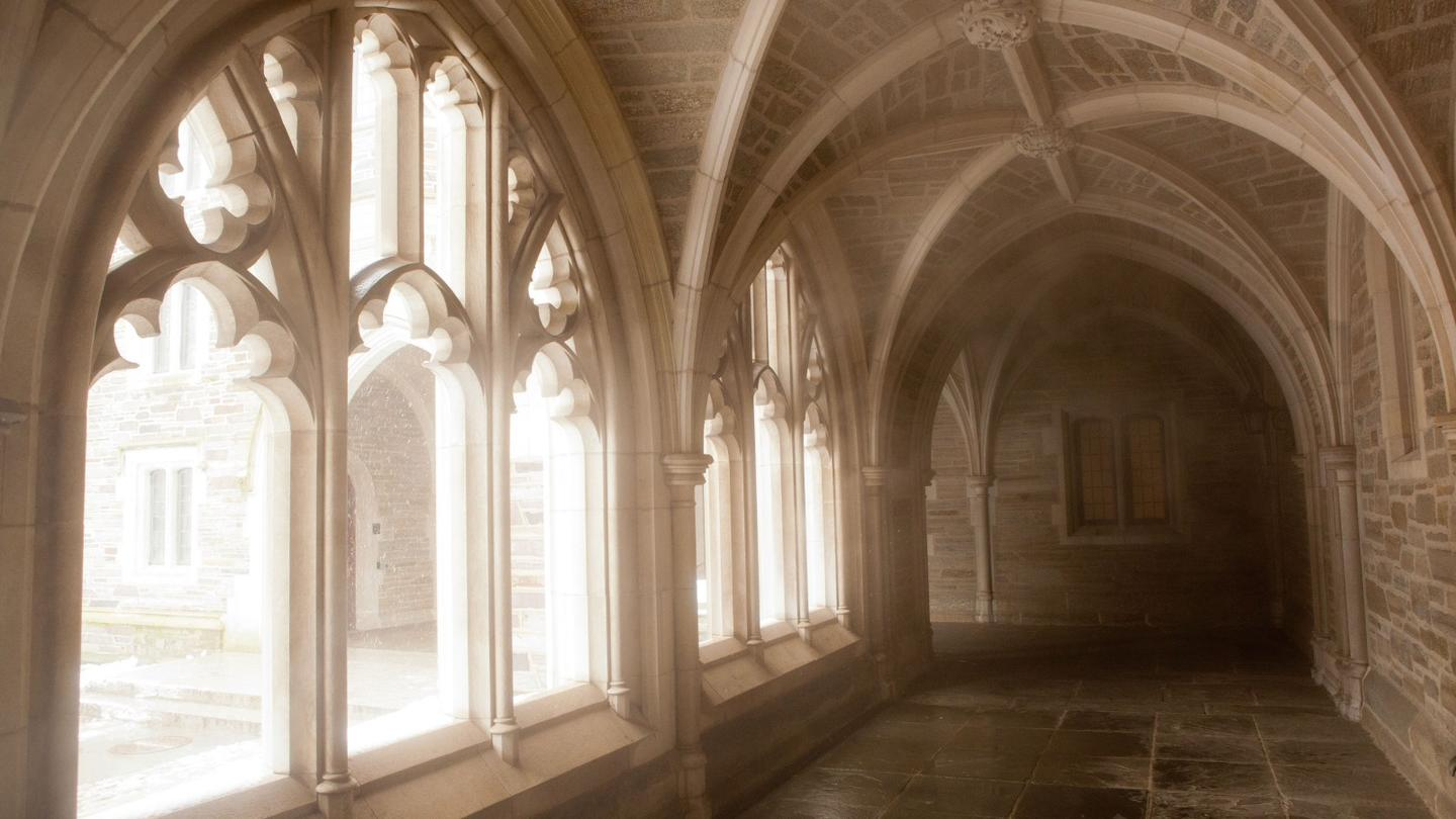 Holder Hall cloister
